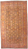 A Tabriz carpet Northwest Persia size approximately 19ft 8in x 11ft 4in