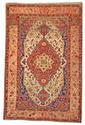 A Mohtasham Kashan rug Central Persia size approximately 4ft 6in x 6ft 9in