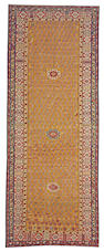 A Kuba long carpet Caucasian size approximately 5ft x 13ft