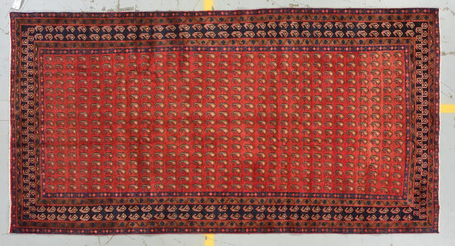 A Boutemar carpet size approximately 5ft 8in x 10ft 9in