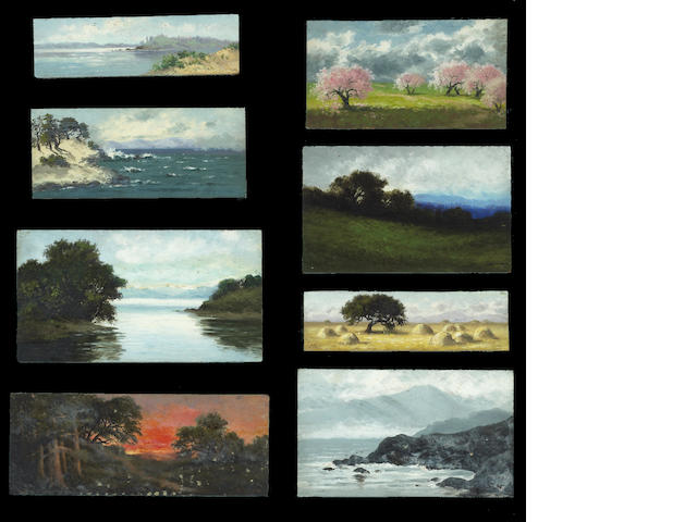 Annie Harmon, 2 framed set of painting