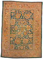 An Oushak carpet west Anatolia size approximately 10ft x 14ft 3in