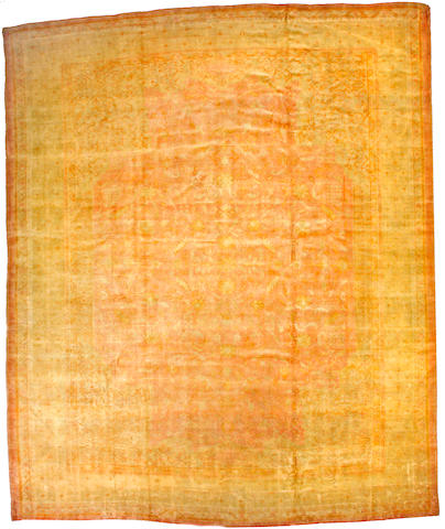 A Borlou carpet Anatolia size approximately 12ft 10in x 15ft 9in