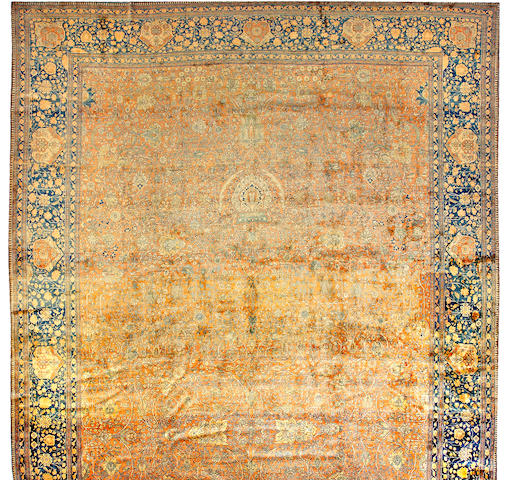 A Mohtashem Kashan carpet Central Persia size approximately 13ft 5in x 23ft 7in