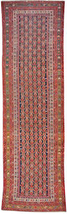 A Malayer runner Central Persia, circa 1920 size approximately 4ft x 10ft