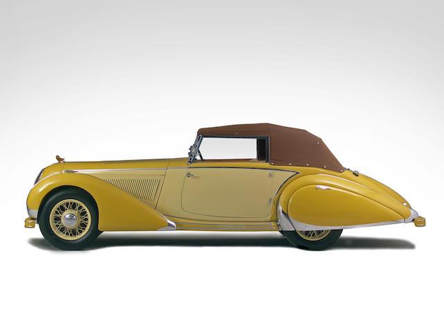 1938 Talbot T120 Cabriolet 85221