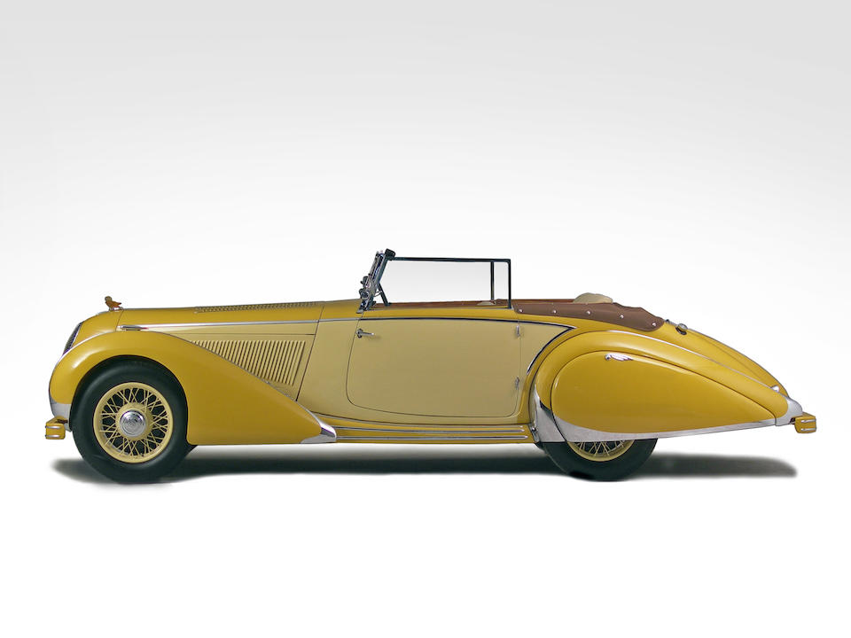 1935 Talbot T120 'Baby 3.0-Liter' Drophead Coupé  Chassis no. 85221 Engine no. 77080