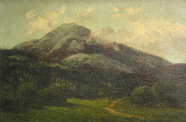 Annie Lyle Harmon (American, 1855-1930) A Group of Landscapes (13) various sizes (smallest 2 1/2 x 8 1/2in, largest 18 x 12in) eleven unframed