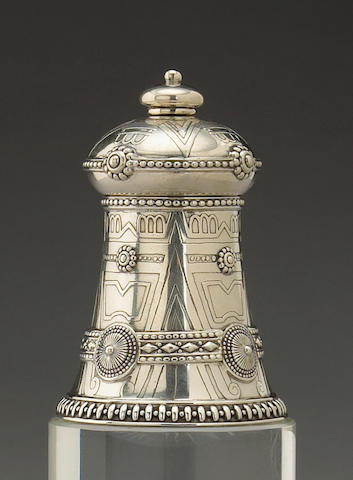 Sterling Aztec Pepper Mill by Tiffany & Co.