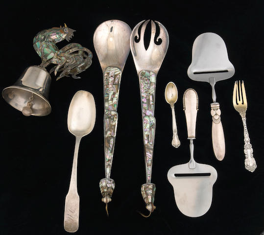 Group of Silver and Plate