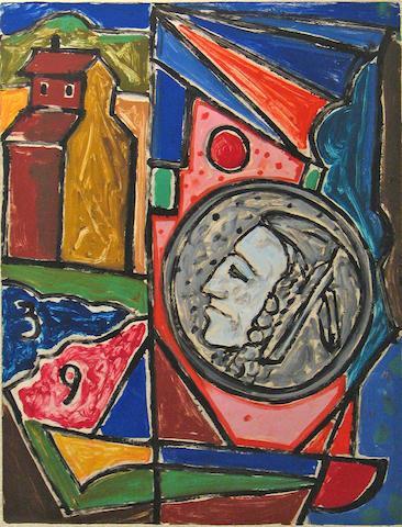 Italo Scanga (Italian, 1932); Untitled (03-#5-86);