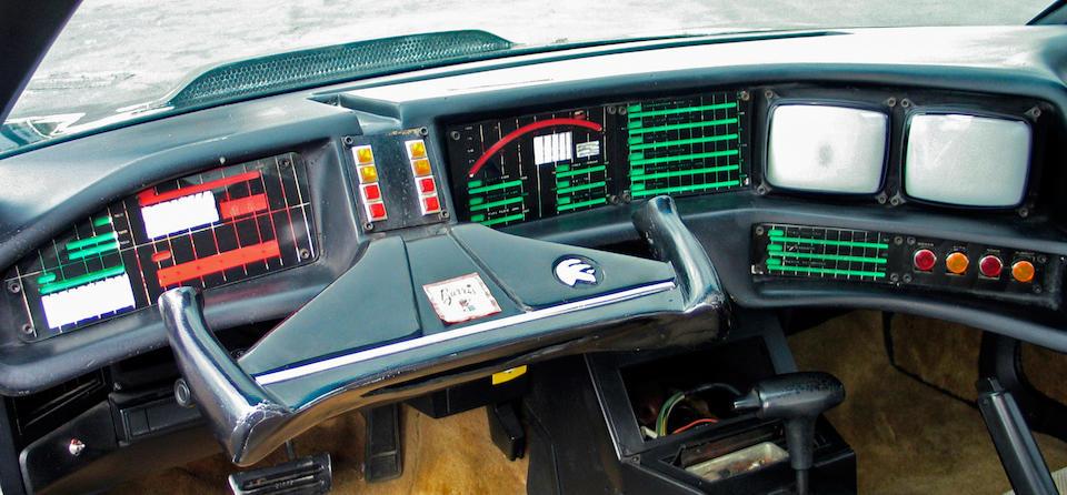 Bonhams : The ex-George Barris, Knight Rider,1984 Pontiac