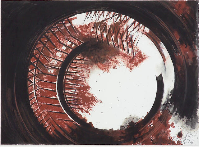 Arnaldo Pomodoro (Italian, 1926); Untitled (Sphere Interior);