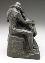 INSPECTION: Rodin, The Kiss, patinated bronze, with foundry mark 'Alexis Rudier Fondeur Paris'