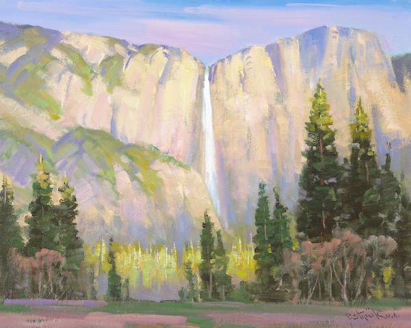 Paul Strisik (American, 1918-1998) Morning Light, Yosemite (No.3211) 16 x 20in