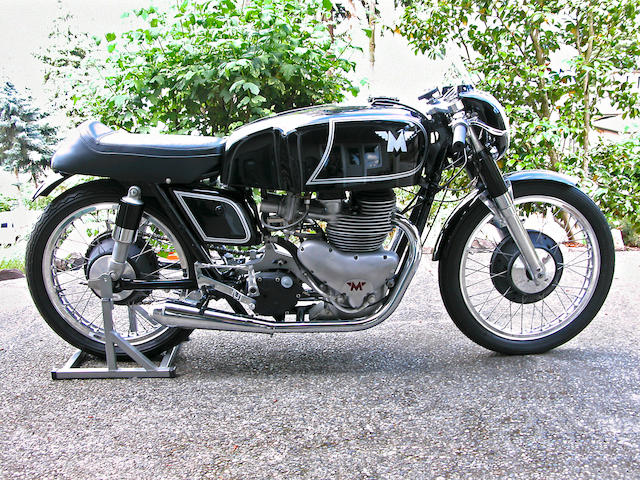 1956 Matchless 498cc G45 Racing Motorcycle Frame no. 945 198 Engine no. 945 198