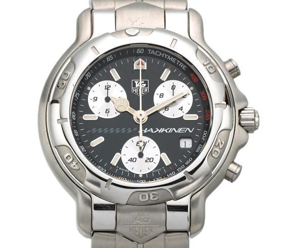 Tag Heuer. A rare collection of three limited edition stainless steel bracelet watches within presentation caseWest McLaren Mercedes, F1 Wrold Champions Trilogy, No.62/200, made in 1998 3