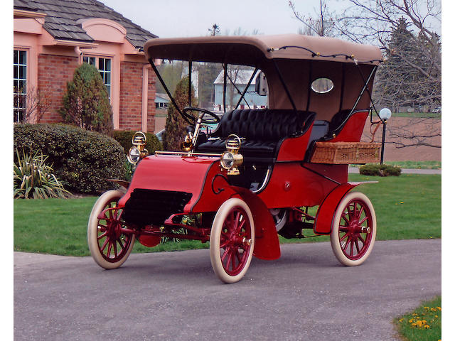 The Earliest Known Cadillac,1903 Cadillac Model A Runabout