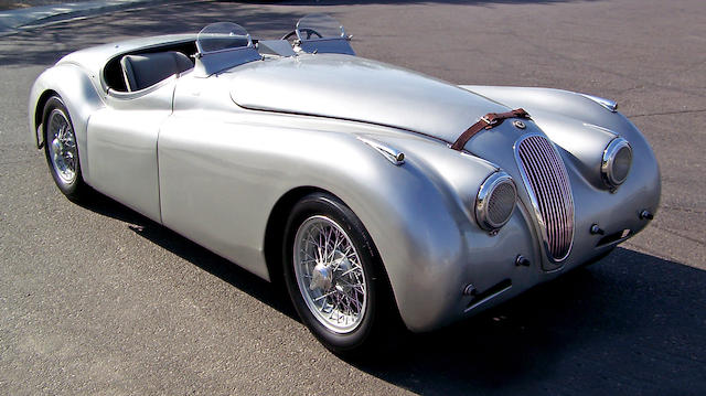 The ex-Walter Hill,1950 Jaguar XK120 'Alloy' Competition Roadster  Chassis no. 670119 Engine no. W1192-8