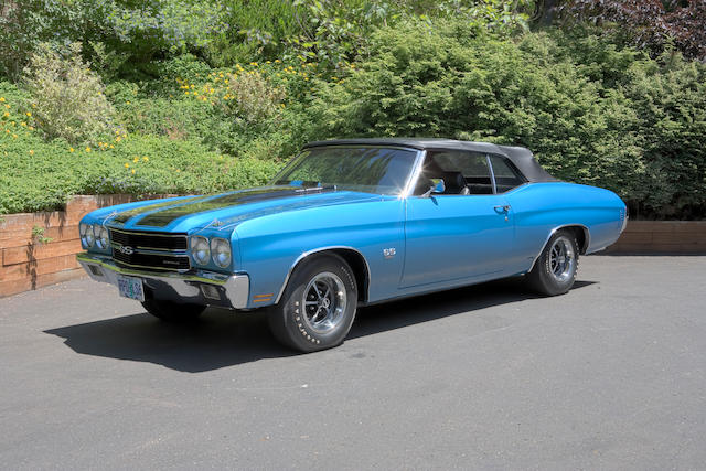 1970 Chevrolet Chevelle SS 454/450hp Convertible  Chassis no. 136670B111501 Engine no. T1005CRV