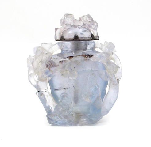 An Aquamarine snuff bottle