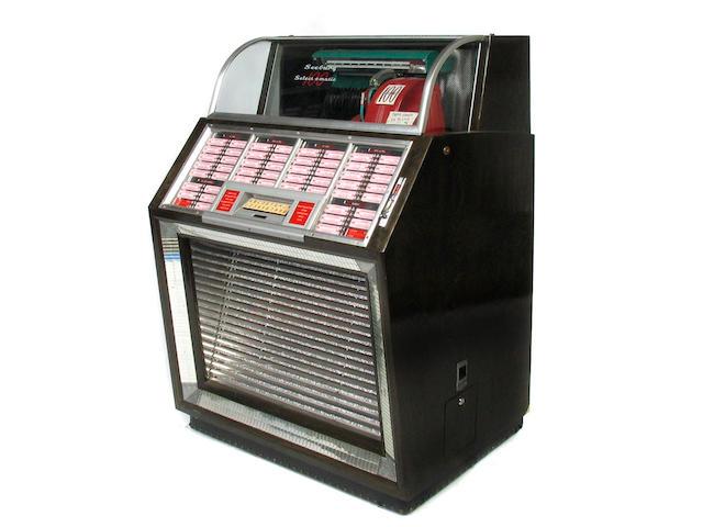 A Seeburg 'Select-O-Matic 100 juke box
