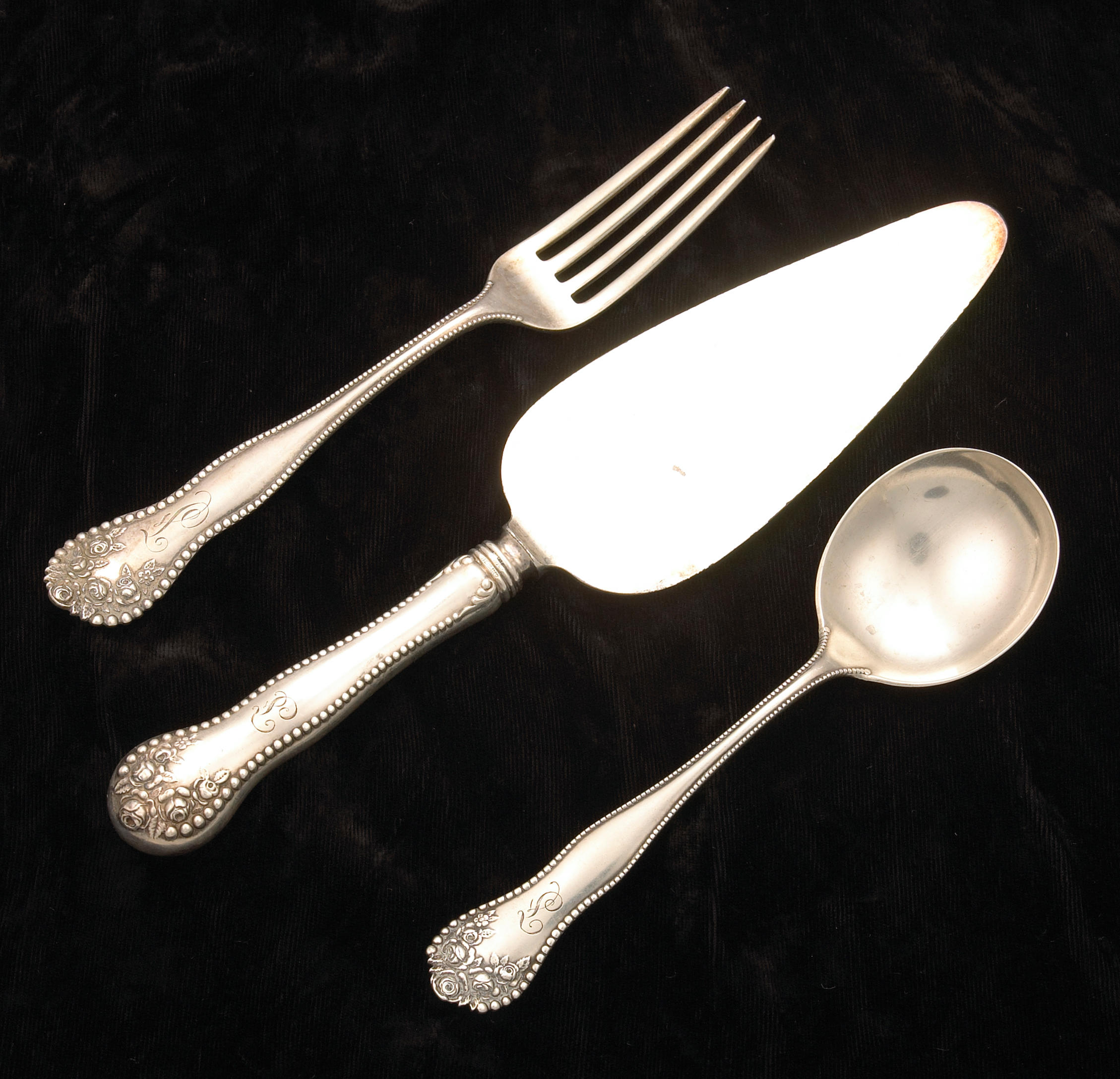 "8 Towle Sterling Legato Salad Forks 6 1//2/"""