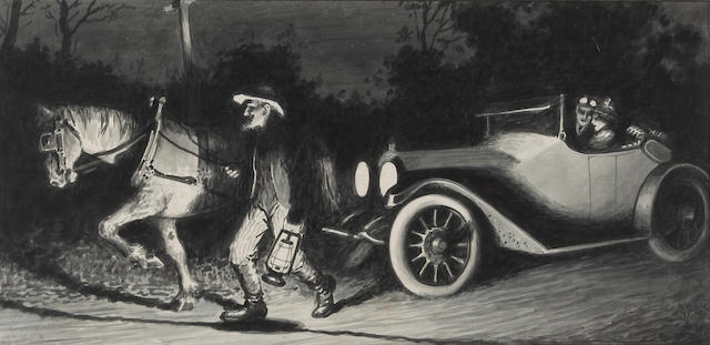 Anonymous, 'One Horse Power', circa 1914,