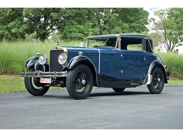 1929 Delage DMN Faux Cabriolet  Chassis no. 31453