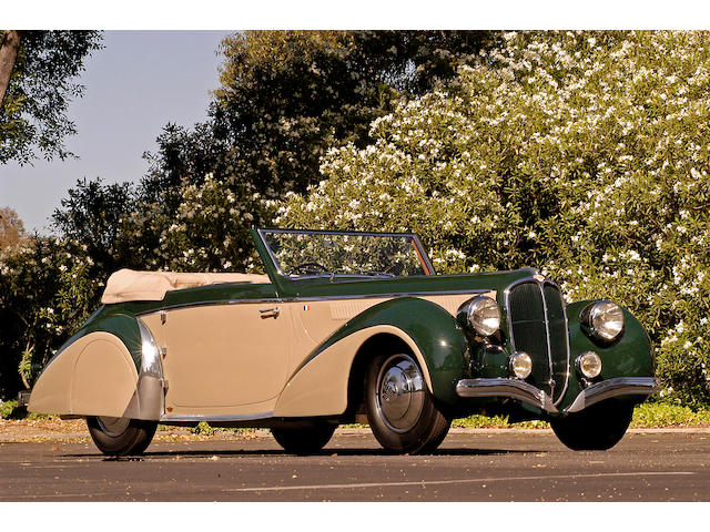 1948 Delahaye 135M Cabriolet  Chassis no. 800692 Engine no. 800692