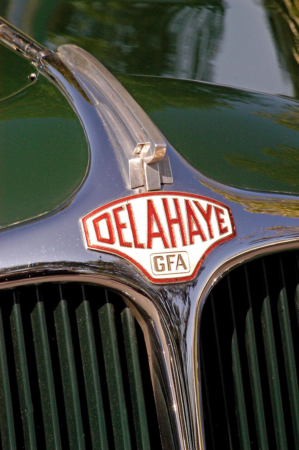 1948 Delahaye 135M Cabriolet  Chassis no. 800692 Engine no. 800692