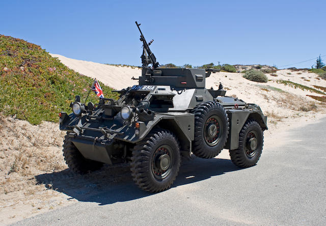 1962 Daimler Ferret Mk2 Armored Scout Car  Chassis no. tba