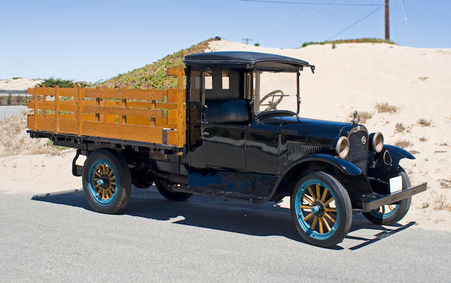 1924 Graham Brothers 1-Ton Flatbed Stake Truck  Chassis no. tba