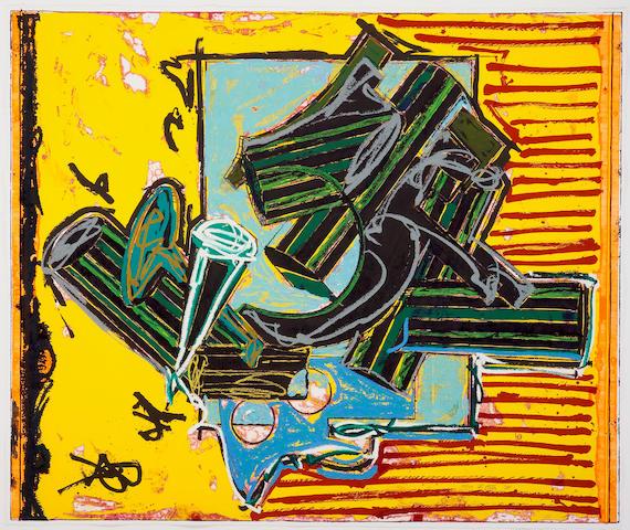 Frank Stella (American, born  1936); La Penna di hu;
