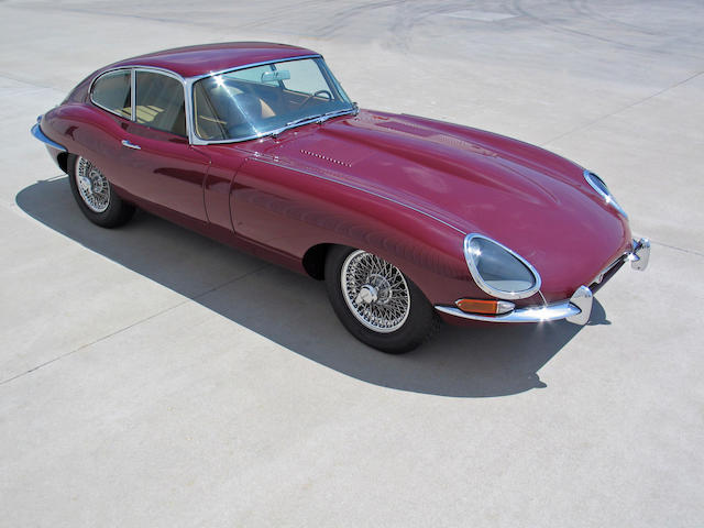 The First E-Type Sold in 1962,1961 Jaguar E-Type Series I 'Flat Floor' 3.8-Liter Coupé  Chassis no. 885104 Engine no. P2300-9