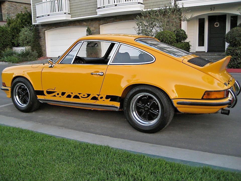 1973 Porsche 911 Carrera RS Touring Coupe  Chassis no. 911360866 Engine no. 6630855