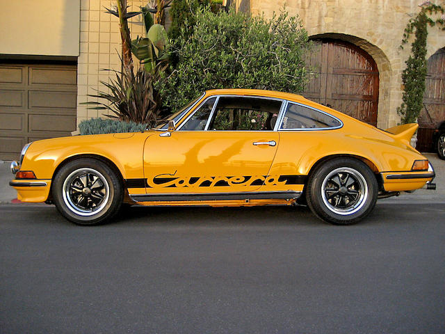 1973 Porsche 911 Carrera RS Touring Coupe  Chassis no. 911360866 Engine no. 6630855
