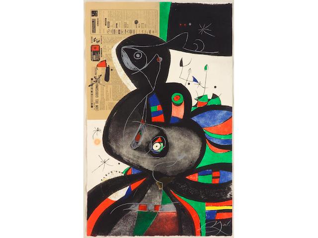 Joan Miro, Gaudi XXI (D.1080), 1979;