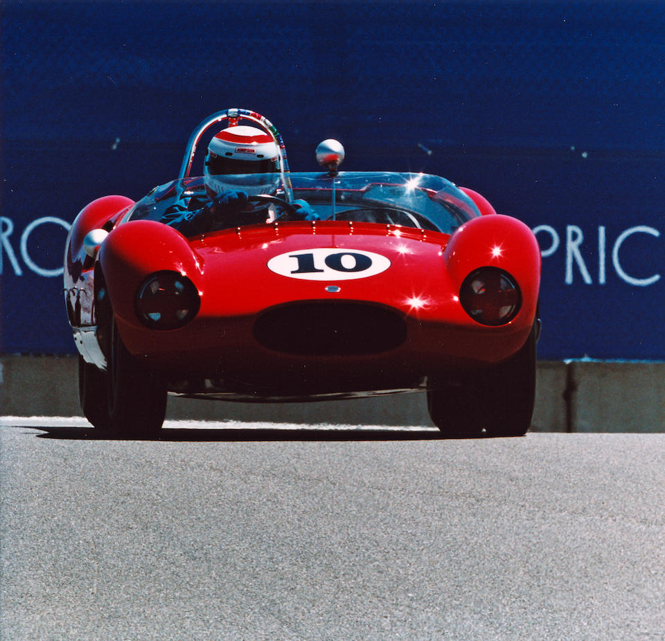 The ex-Curt Lincoln, Jack Brewer,1959 2-Liter Cooper-Climax Monaco Mark I Sports-Racing Two-Seater  Chassis no. CM-1-59 Engine no. 430/30/1164