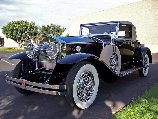 The Pebble Beach, and 100 point CCCA Senoir Emeritus Award-winning,1931 Rolls-Royce Phantom I 'Regent' Convertible Coupé  Chassis no. S163PR