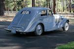 The Pebble Beach Award Winning,1935 Bentley 3 1/2 Liter 'Aerodynamic' Saloon B103CW