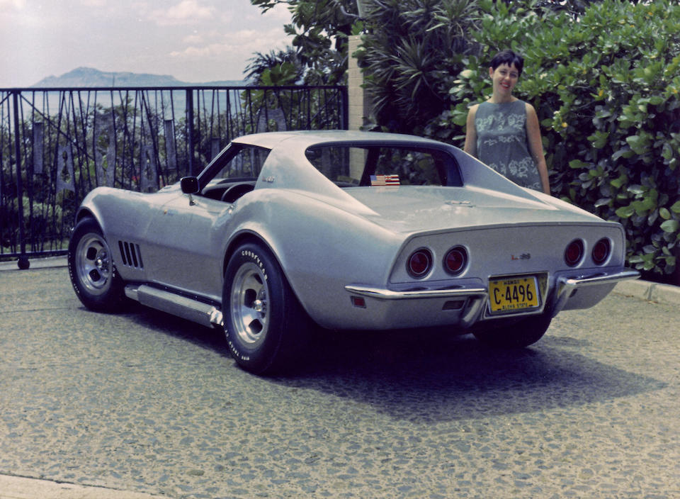 The Two Time NCRS Top Flight Award-winning, and Duntov Award-winning,1968 Chevrolet Corvette L88 Coupe  Chassis no. 194378S422103 Engine no. T0229IT18S422103
