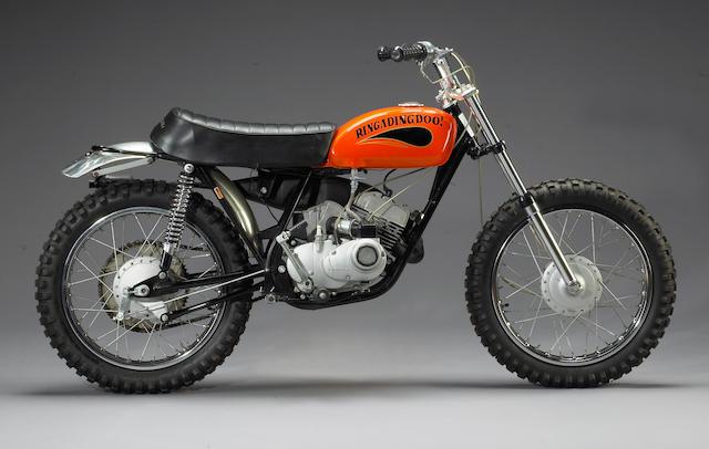 The ex-Steve McQueen, Von Dutch,1970 Kawasaki 100cc G31M Centurian 'Ringadingdoo!' Engine no. G31E01347