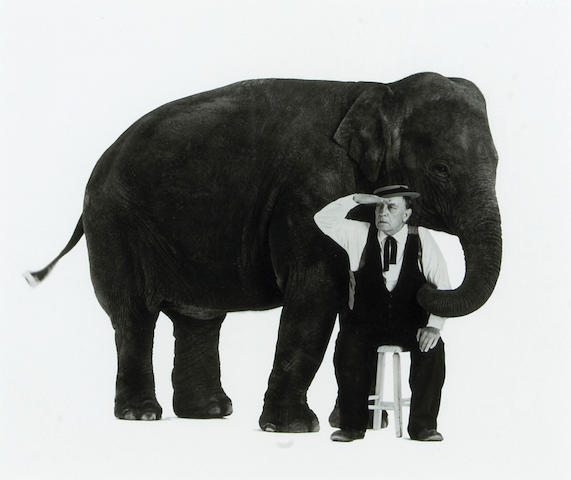 Sid Avery What elephant? silver print