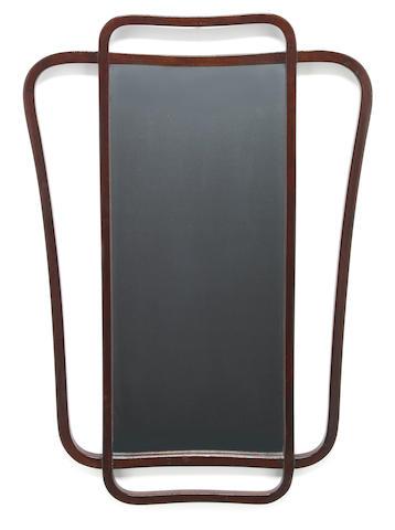 A Thonet Bentwood Mirror