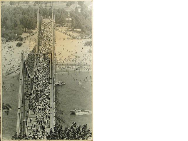 Max Beltermans Bridge silver print