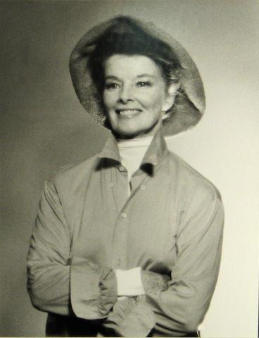 Edward Pfizenmaier (American, born 1926); Katherine Hepburn;