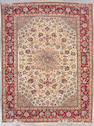 An Isphahan carpet  size approximately 10ft. 5in. x 13ft. 8in.