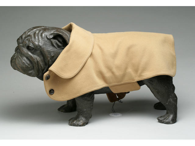 Group lot of three woolen Pug coats