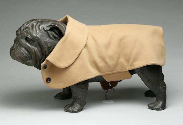 Group lot of three woolen Pug coats